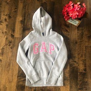 Gap Kids Hooded Logo Sweatshirt Size L (10-11)
